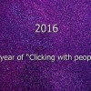 "2015 – A year of ""Clicking with people"""